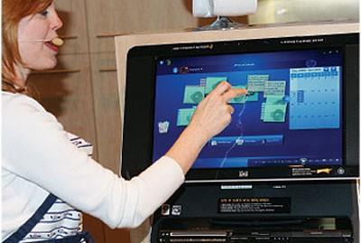 شاشات اللمس من مايكروسوفت
