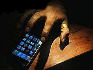 هاتف محمول يعيد شحن نفسه بخلية شمسية