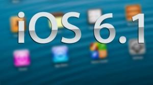 نسخة جديدة من نظام ios تحمل الرقم 6.1