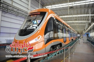 a-newly-manufactured-tram-powered-by-hydrogen-fuel-cells-is-presented-at-qingdao